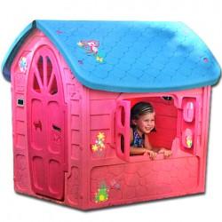 DOREX Záhradný domček pre deti - ružový