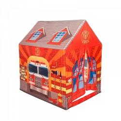 IPLAY Detský stan na hranie Požiarna stanica