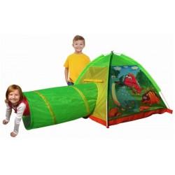 IPLAY Detský stan na hranie s tunelom Dinosaurus