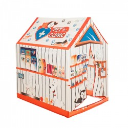 IPLAY Detský stan na hranie Zvieracia klinika