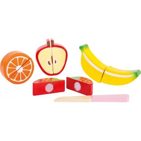 Drevené krájanie - ovocie