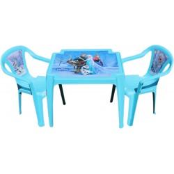 Detský stolík so stoličkami Frozen Ľadové kráľovstvo