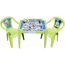 Detský stolík so stoličkami Mickey Mouse