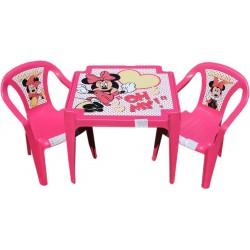 Detský stolík so stoličkami Minnie Mouse