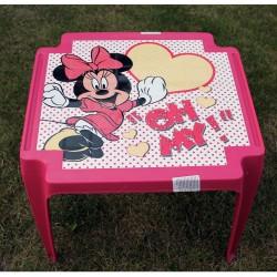 Detský stolík Minnie Mouse