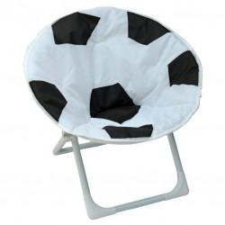 Detské rozkladacie kreslo futbalová lopta
