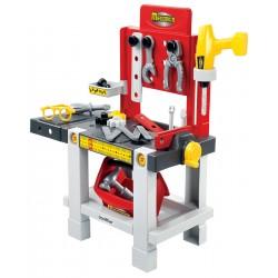 ÉCOIFFIER detská pracovná dielňa Mecanics + 22 doplnkov