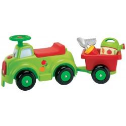Écoiffier Detské odrážadlo - Traktor s prívesom