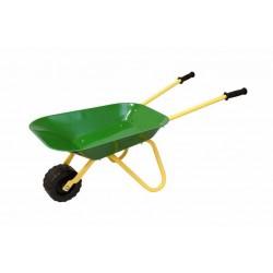 BINO Detský fúrik - kovový - zelený