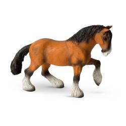 Bullyland kone - Shirský kôň figúrka