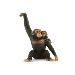 Bullyland  Šimpanz s mláďaťom figúrka