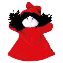 Plyšová divadelná maňuška - Červená čiapočka