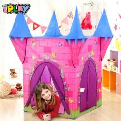 IPLAY Detský stan na hranie Zámok pre princezné