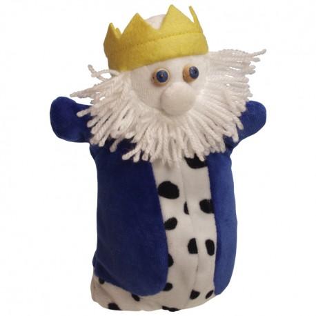 Plyšová divadelná maňuška - Kráľ
