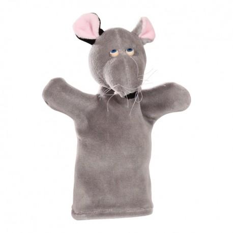 Plyšová divadelná maňuška - Myška