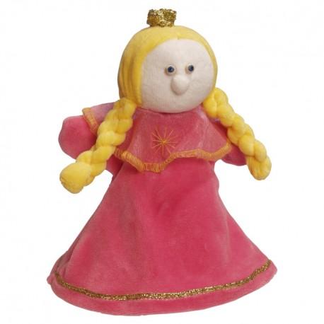 Plyšová divadelná maňuška - Princezná