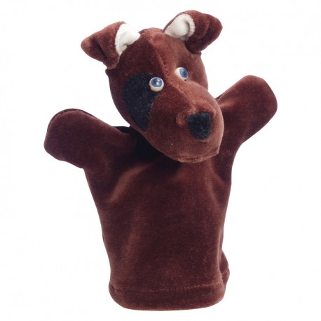 Plyšová divadelná maňuška - Psík Foxi