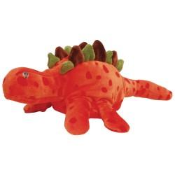 Divadelná maňuška päťprstová - Dinosaurus - 18 cm - oranžový