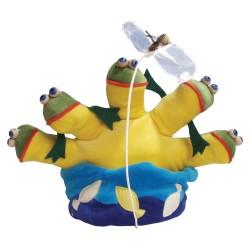 Divadelná maňuška päťprstová - Jazero so žabkami - 18 cm