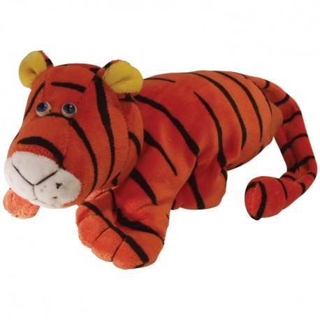 Divadelná maňuška päťprstová - Tiger - 18 cm
