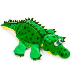 Divadelná maňuška päťprstová - Krokodíl - 22 cm
