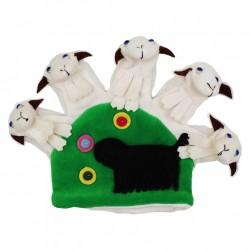 Divadelná maňuška päťprstová - Ovečky so psíkom - 22 cm