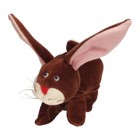 Divadelná maňuška päťprstová - Zajačik - 22 cm