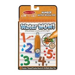 Melissa & Doug magická omaľovánka – Číslice – Water WOW