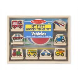 Melissa & Doug Detské pečiatky - moja prvá sada - Doprava