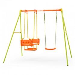 KETTLER Detská dvoj-miestna hojdačka 2m-ová Swing 3 s kovovou konštrukciou