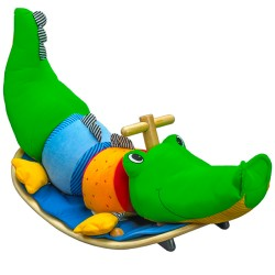 Wonderworld Detský hojdací krokodíl