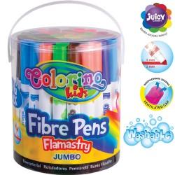 Colorino Kids farebné fixky Jumbo 48 ks-ové