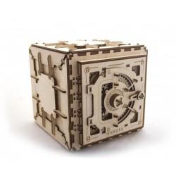 UGEARS Drevený mechanický model - Trezor