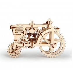 UGEARS Drevený mechanický model - Traktor