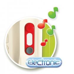SMOBY Elektronický zvonček k detským domčekom