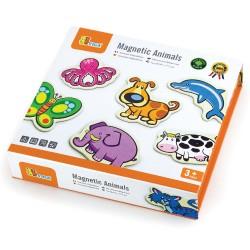 VIGA Drevené magnetky - Zvieratká
