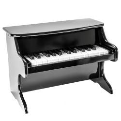 Detský klavír - čierny
