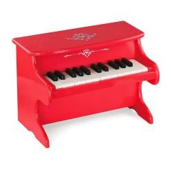 Detský klavír - červený
