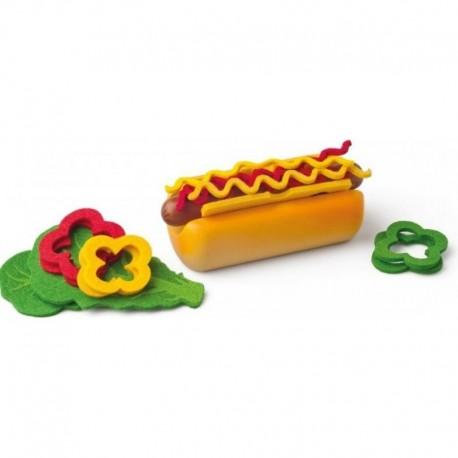 Drevený Hot-dog Woody