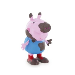 Comansi Peppa Pig Prasiatko - zablatený George rozprávková figúrka