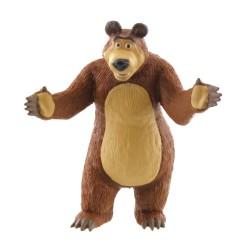 Comansi Máša a Medveď - Medveď rozprávková figúrka