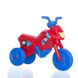 Enduro odrážadlo motorka malá červeno-modrá