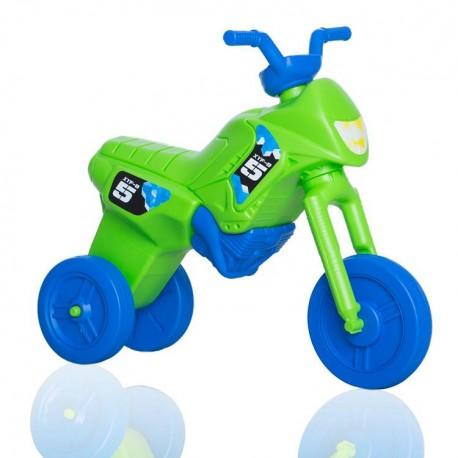 c7fc62778 Enduro MotoKidZ Detské odrážadlo - motorka MAXI - zeleno-modrá