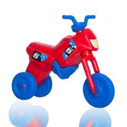 Enduro MotoKidZ Detské odrážadlo - motorka MAXI - červeno-modrá