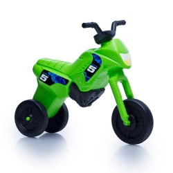 Enduro MotoKidZ Detské odrážadlo - motorka MAXI - zelená