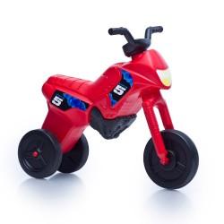 Enduro MotoKidZ Detské odrážadlo - motorka MAXI - červená