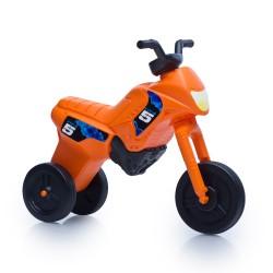 Enduro MotoKidZ Detské odrážadlo - motorka MAXI - oranžová