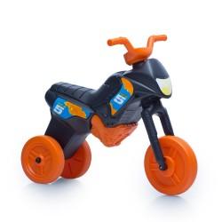 Enduro MotoKidZ Detské odrážadlo - motorka MAXI - čierno-oranžová