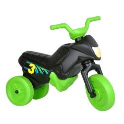 Enduro MotoKidZ Detské odrážadlo - motorka MINI - čierno-zelená