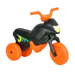 Enduro odrážadlo motorka malá - čierno-oranžová
